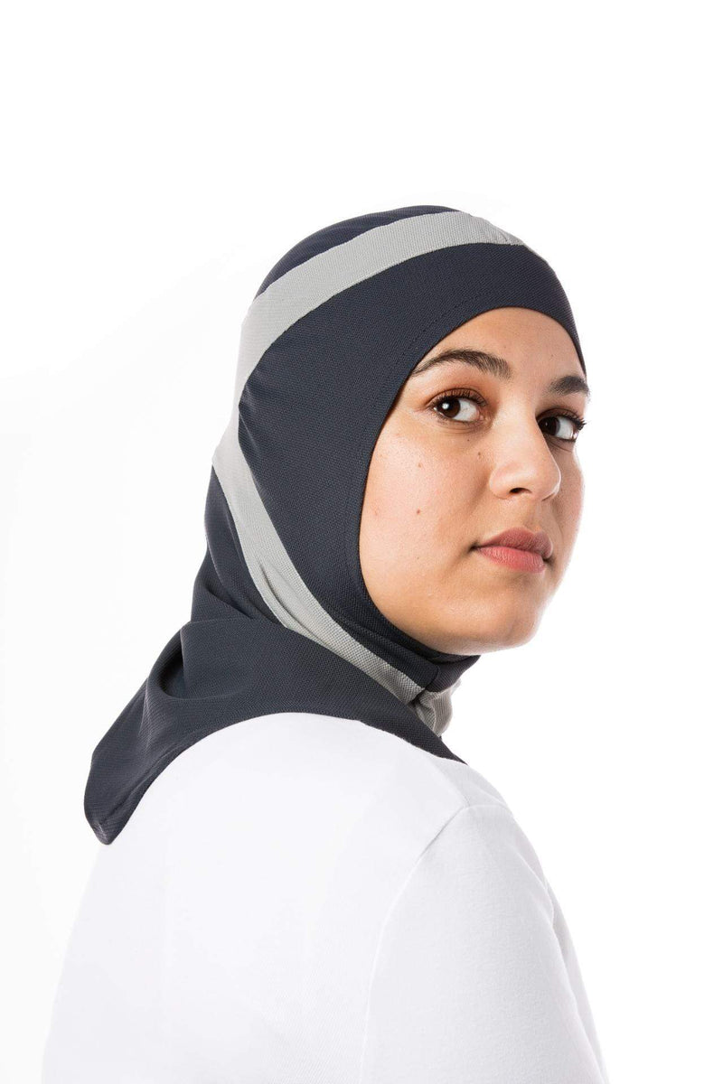 Sports Hijabs Capsters Runner in Dark Grey/Light Grey