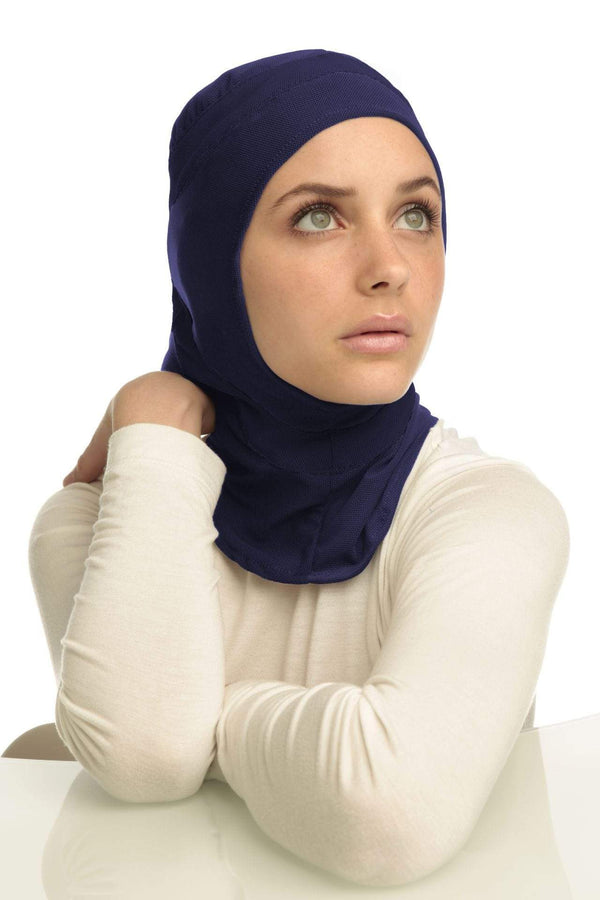 Sports Hijabs Capsters Runner in Navy Blue