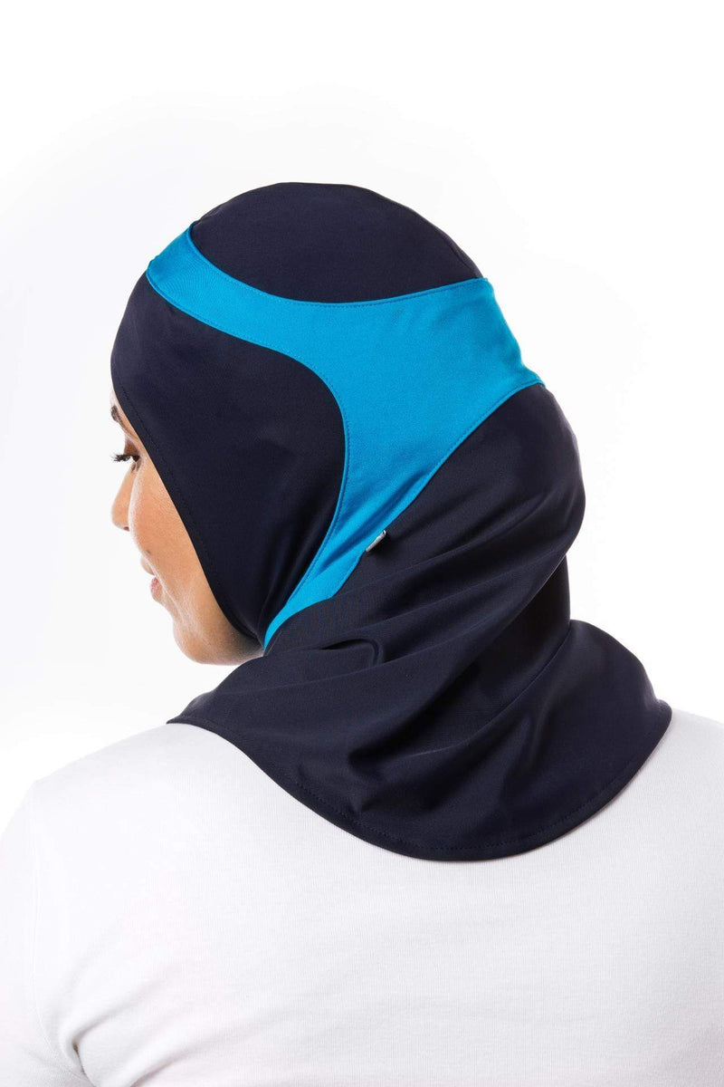 Swim Capsters Swim in Dark Blue/Aqua