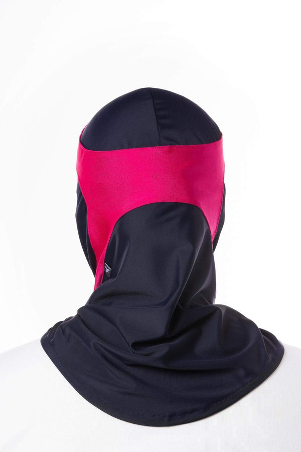 Swim Capsters Swim in Dark Blue/Pink