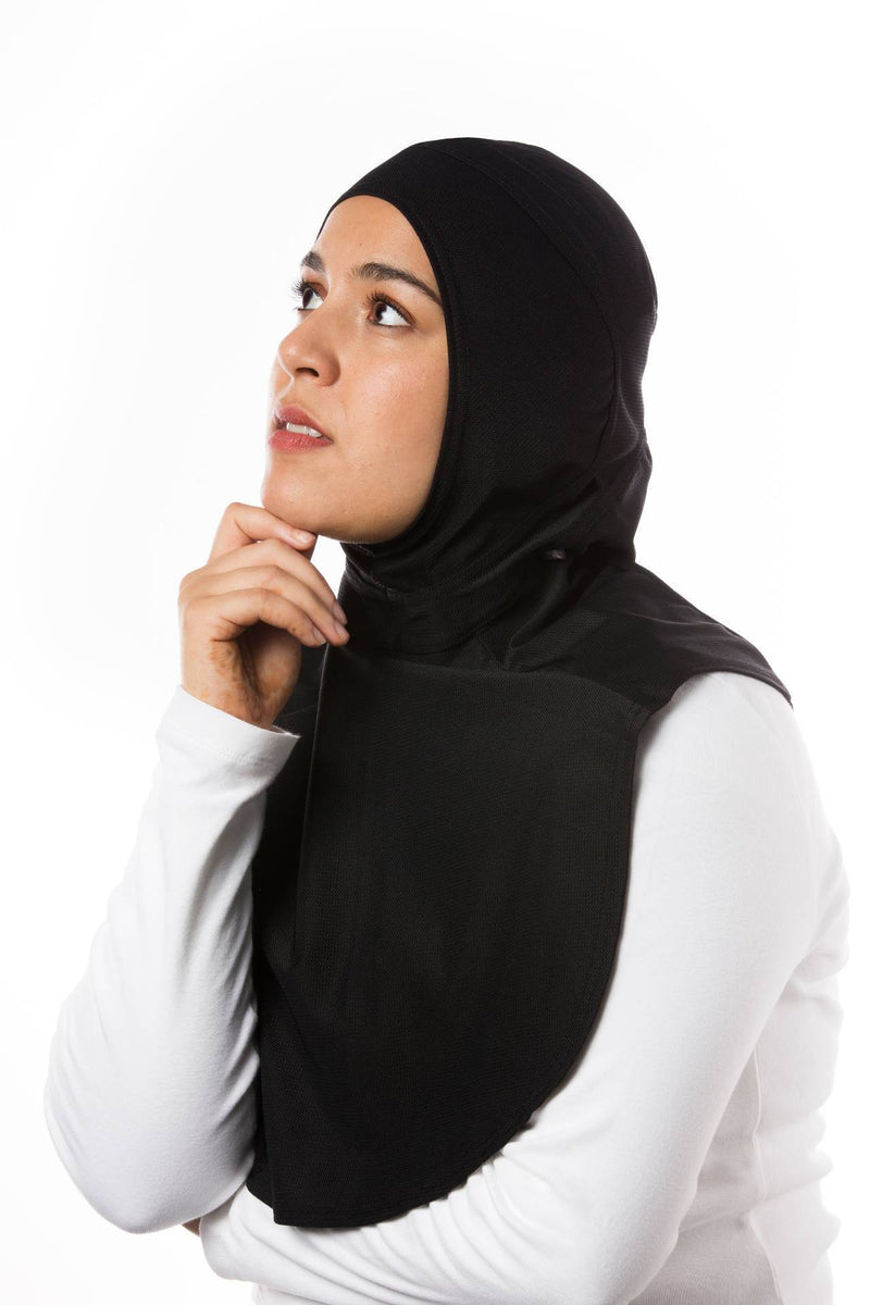 Sports Hijabs Capsters XL in Black