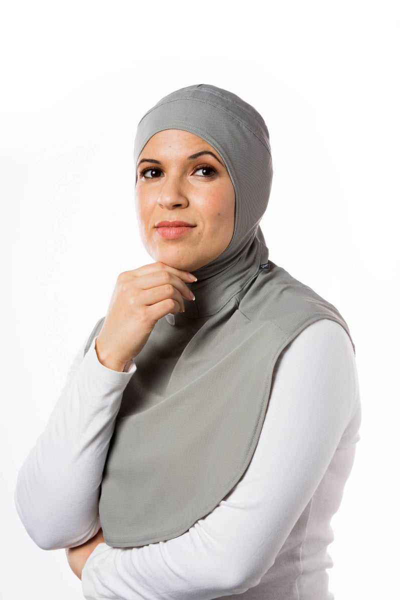 Sports Hijabs Capsters XL in Light Grey