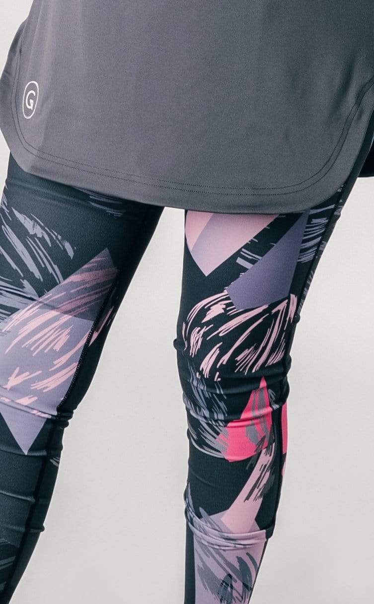 GlowGlam Tights in Black