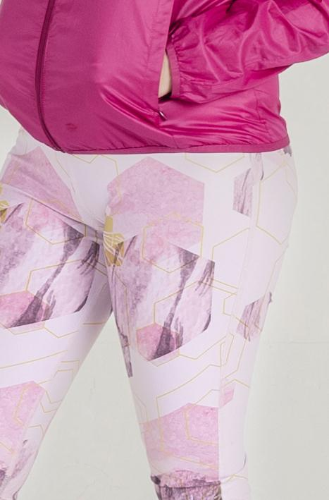Glowmetry Tights in Pink