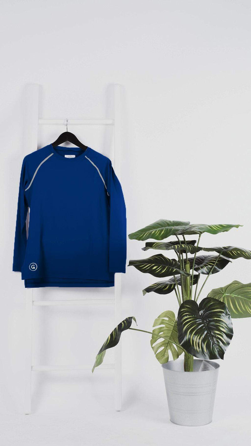 Sports Tops GLOWco Exclusive Ray in Navy Blue