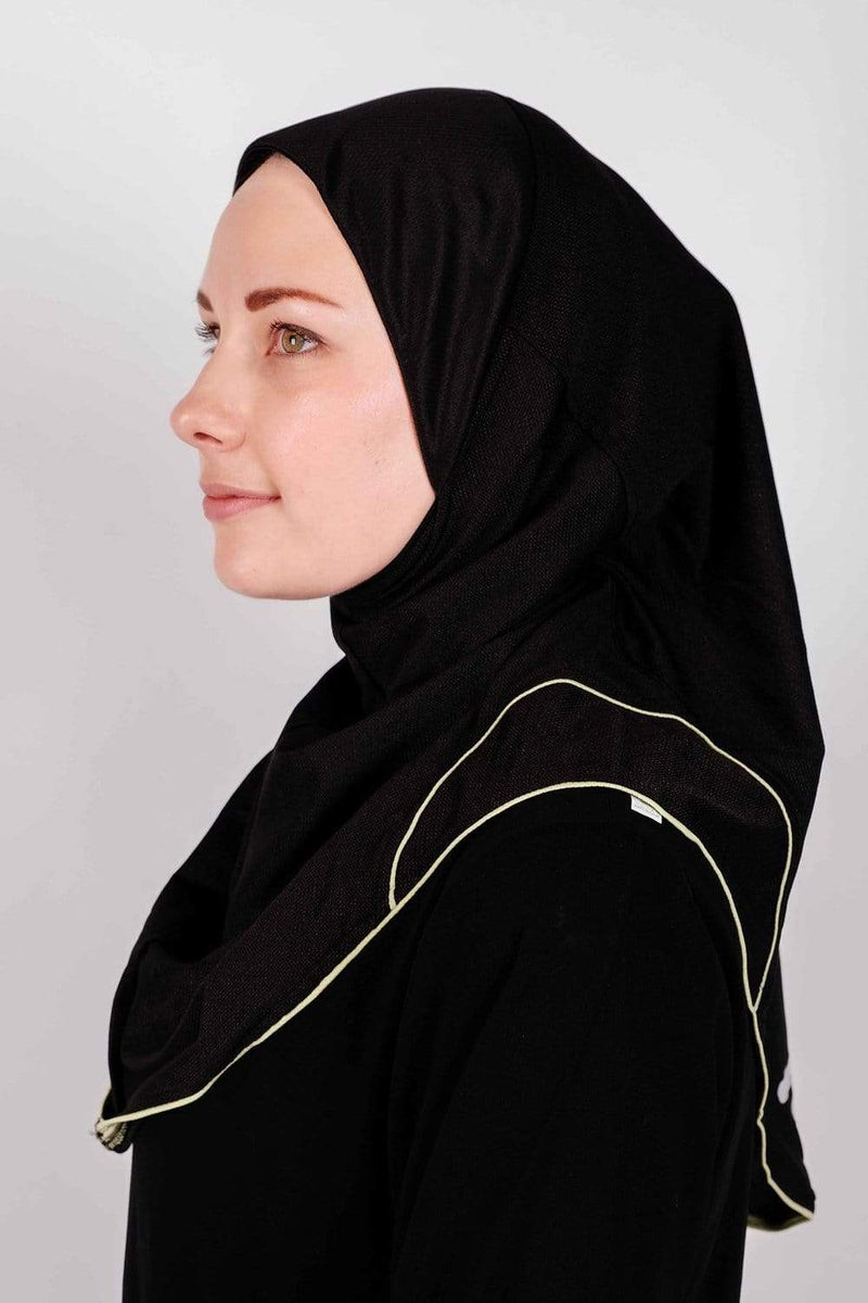 Sports Hijabs Juz Demure Drifit Hijab in Black