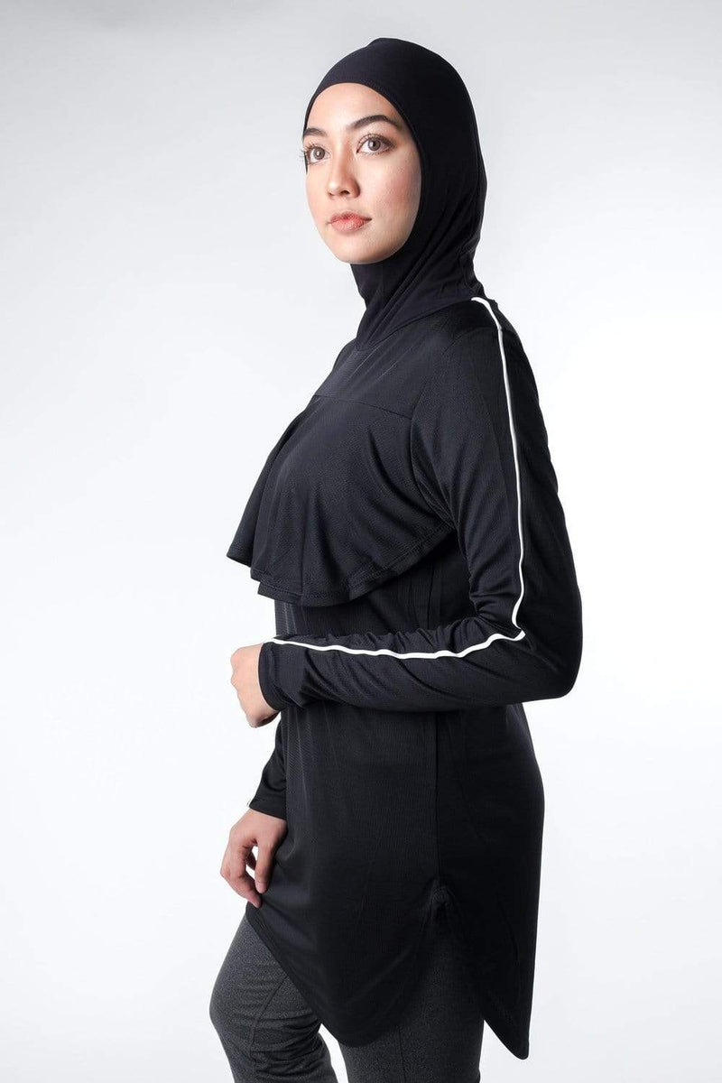 Swim Nashata Capelectic in Black (Top Only)
