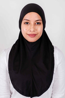 Sports Hijabs Nashata EZ Tunes in Black