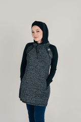 Sports Tops Nashata Riada Hoodie in Black