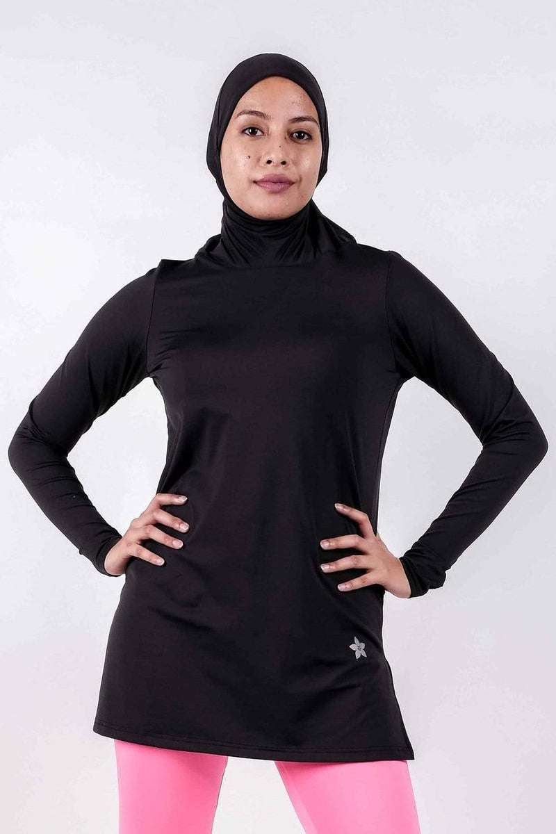 Sports Tops Nashata Ultra Top (Azza Toplectic) in Black