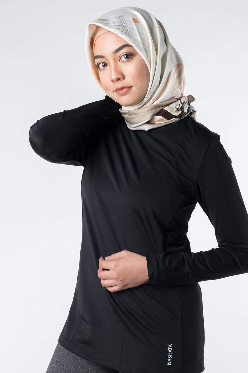 Sports Tops Nashata Ultra Top II in Black