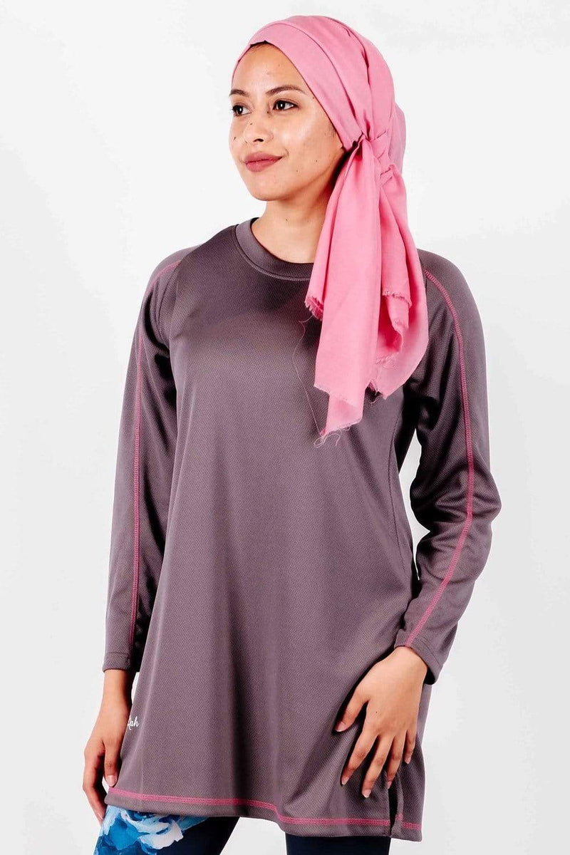 Sports Tops Rauqah Eydaa in Dark Grey