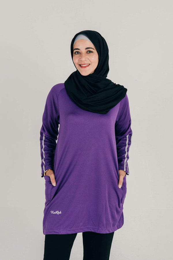 Wafiyya in Purple