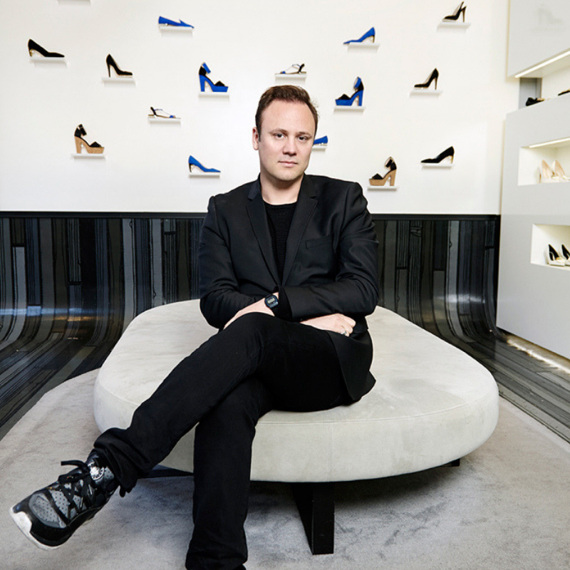 ON NICHOLAS KIRKWOOD BRITISH SHOE DESIGNER
