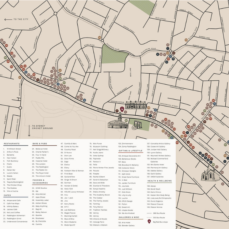 VISIT PADDINGTON WAY FINDING MAP