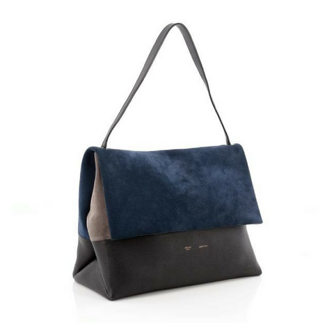 celine all soft tote suede