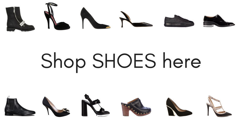 Go to the shop page for second hand designer shoes at Pelle