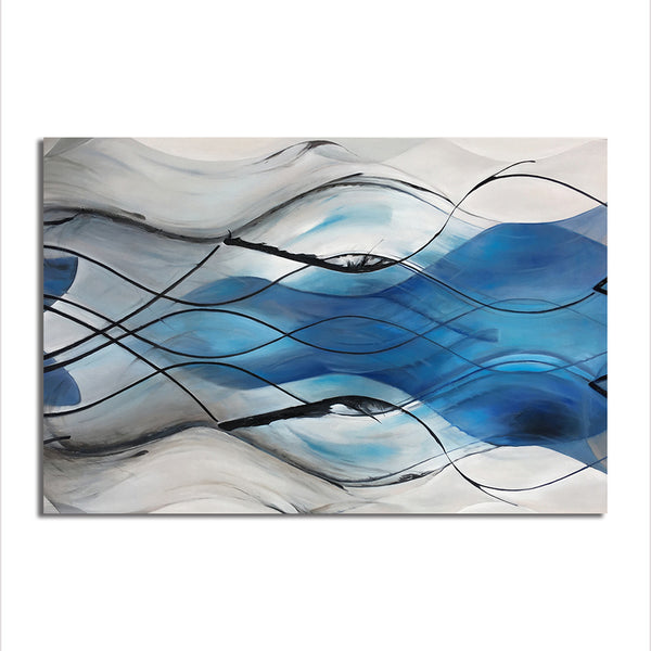 Abstract Waves - Unframed Canvas Print (BXY277)