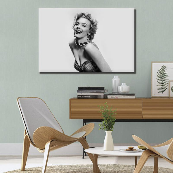 Asst Marilyn Monroe Portraits - Rolled Canvas Print Only (BXY207b)
