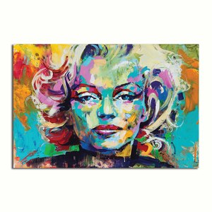 Asst Marilyn Monroe Portraits - Rolled Canvas Print Only (BXY207)
