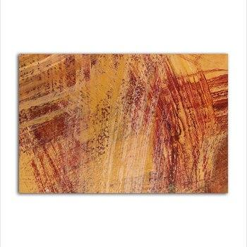 Asst Nordic Abstract Art - Unframed Canvas Print (BXY224c)