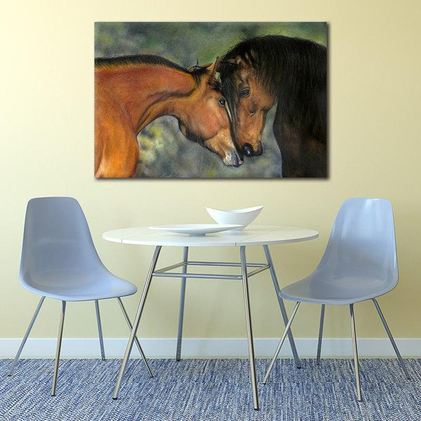 Asst Stunning Horse Portraits - Rolled Canvas Print Only (BXY205b)