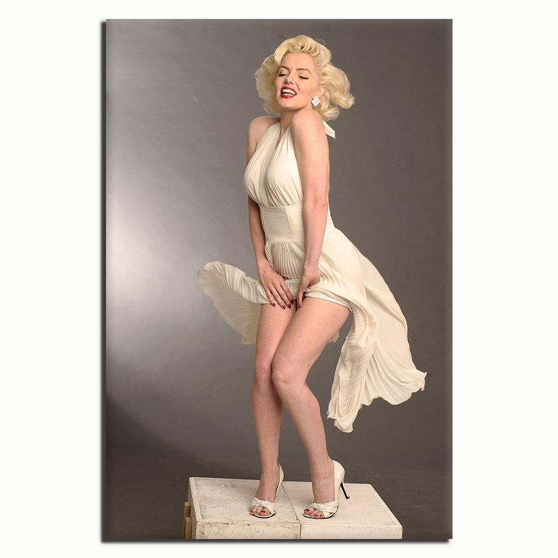 Marilyn Monroe - Unframed Canvas Print (BXY310)