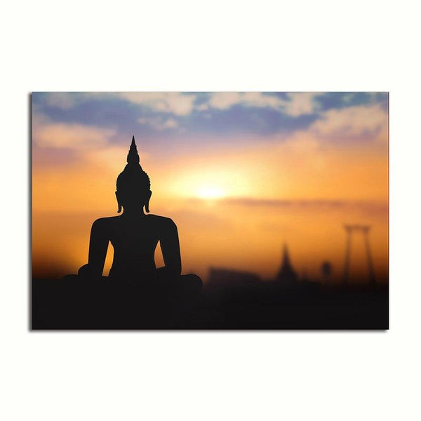 Asst Buddha - Rolled Canvas Print Only (BXY226b)