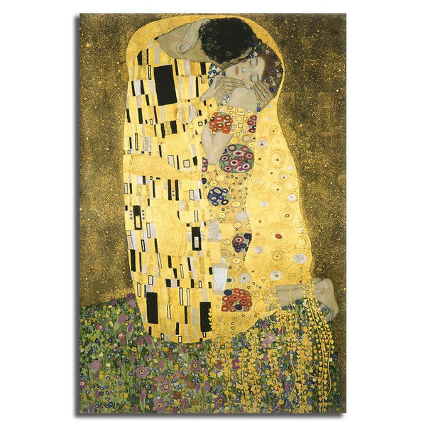 The Kiss - Unframed Canvas Print (BXY276)