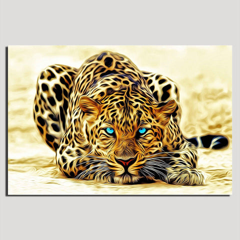 Leopard - Unframed Canvas Print (BXY282)