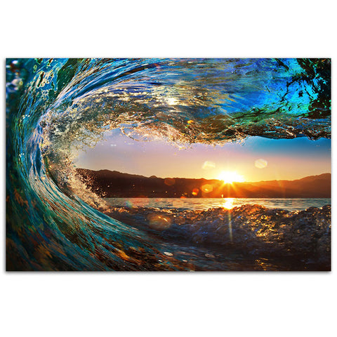 Splendid Wave - Canvas Print Art - CN372