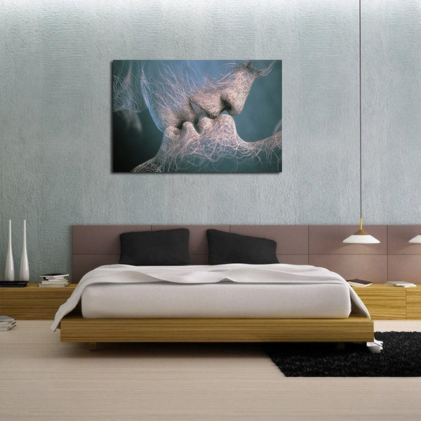 Sensual Kiss - Unframed Canvas Print (BXY298)