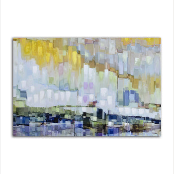 Asst Abstract Designs - Unframed Canvas Print (BXY246)