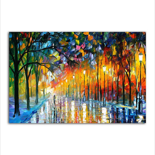 Asst Abstract Designs - Rolled Canvas Print Only (BXY246d)