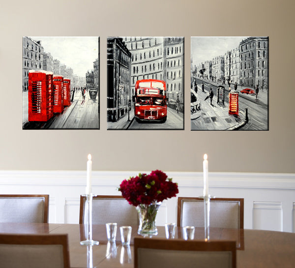 British Bus - YA421B - Priceless ART:  Australia's Largest Range of Affordable ART