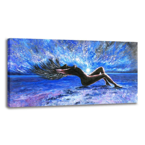 Female Nude - Unframed Canvas Print (BXY263)