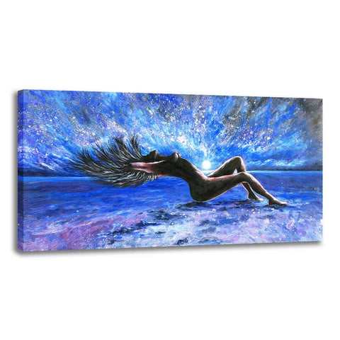 Female Nude - Rolled Canvas Print Only (BXY263)