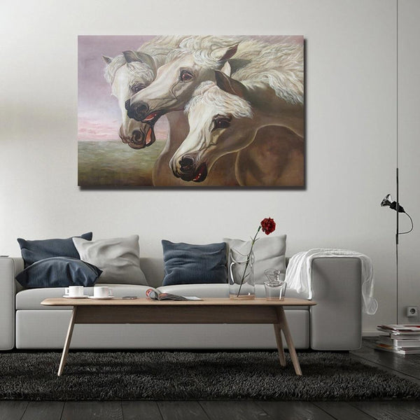 Asst Horses - Rolled Canvas Print Only (BXY243b)