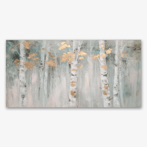 Birch Bliss - Asst Sizes Canvas Art - EA206