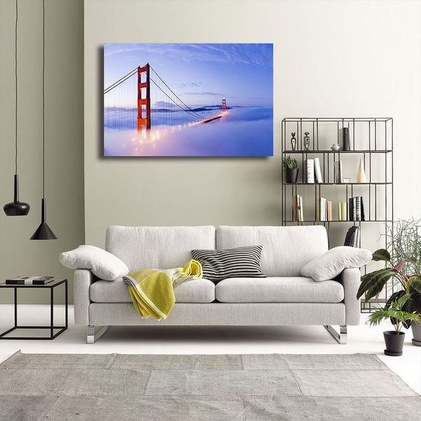 Golden Gate Bridge San Francisco - Unframed Canvas Print (BXY318)