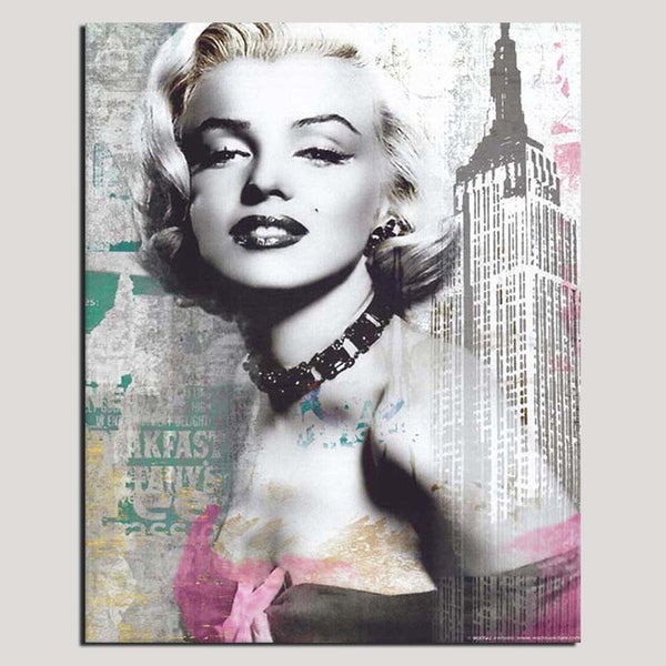Marilyn Monroe - Unframed Canvas Print (BXY270)