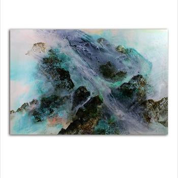 Asst Abstract Contemporary Art - Unframed Canvas Print (BXY223b)
