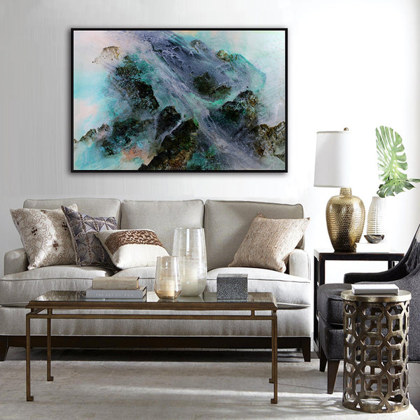 Asst Abstract Contemporary Art - Rolled Canvas Print Only (BXY223)