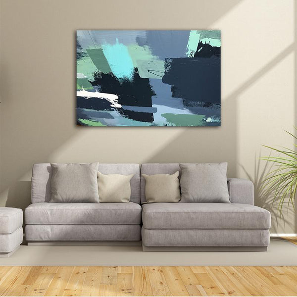 Asst Abstract Contemporary Art - Unframed Canvas Print (BXY223d)