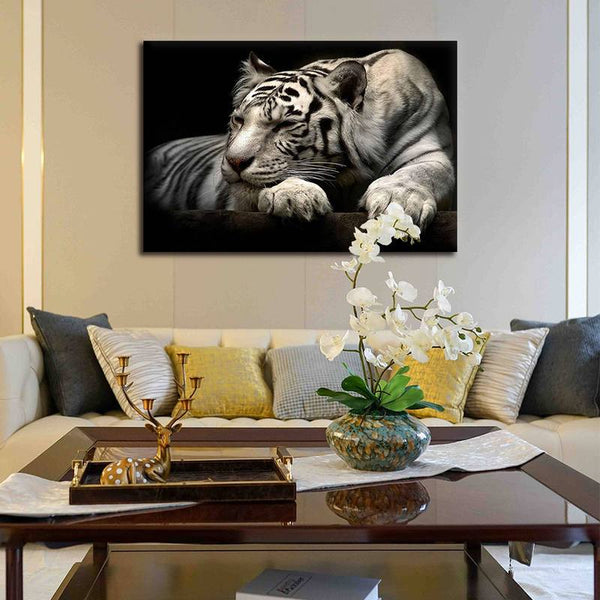 Asst Wild Animals - Unframed Canvas Print (BXY317c)