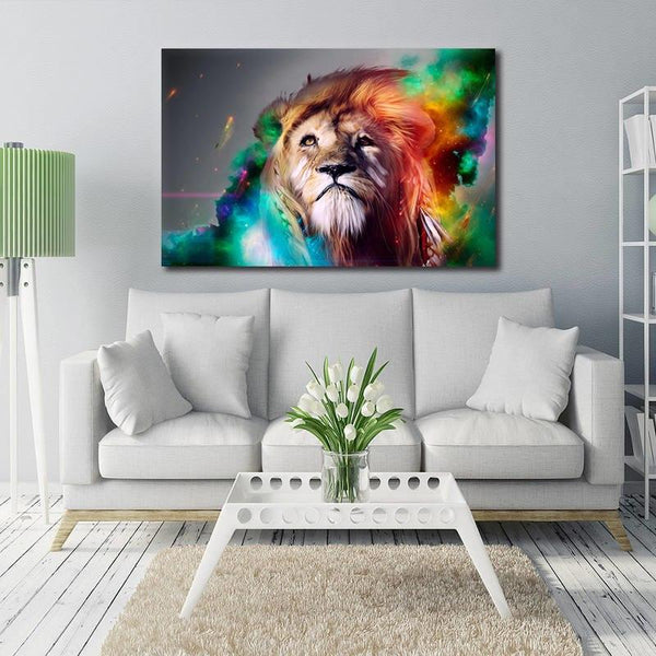 Asst Wild Animals - Unframed Canvas Print (BXY317b)