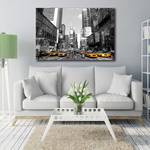 Manhattan Time Square - Unframed Canvas Print (BXY237)
