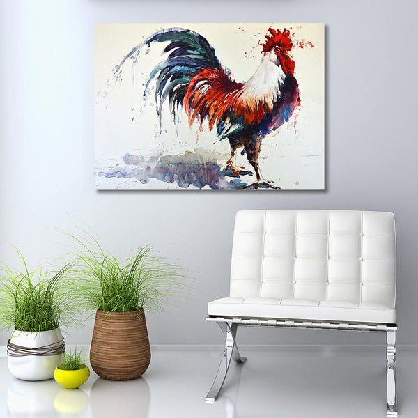 Rooster - Unframed Canvas Print (BXY268)
