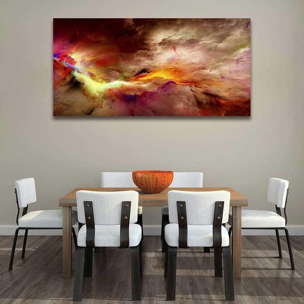 Asst Sublime Abstract Art - Unframed Canvas Print (BXY312c)