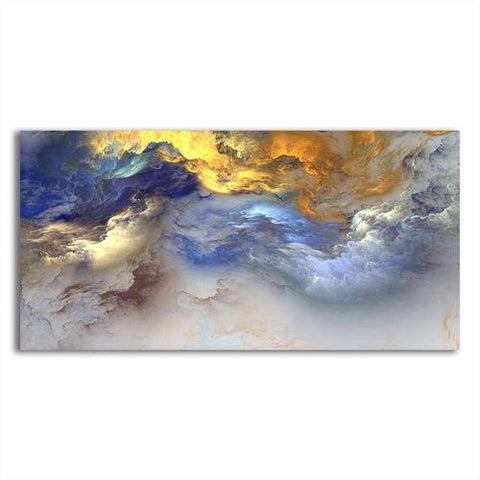 Asst Sublime Abstract Art - Unframed Canvas Print (BXY312)